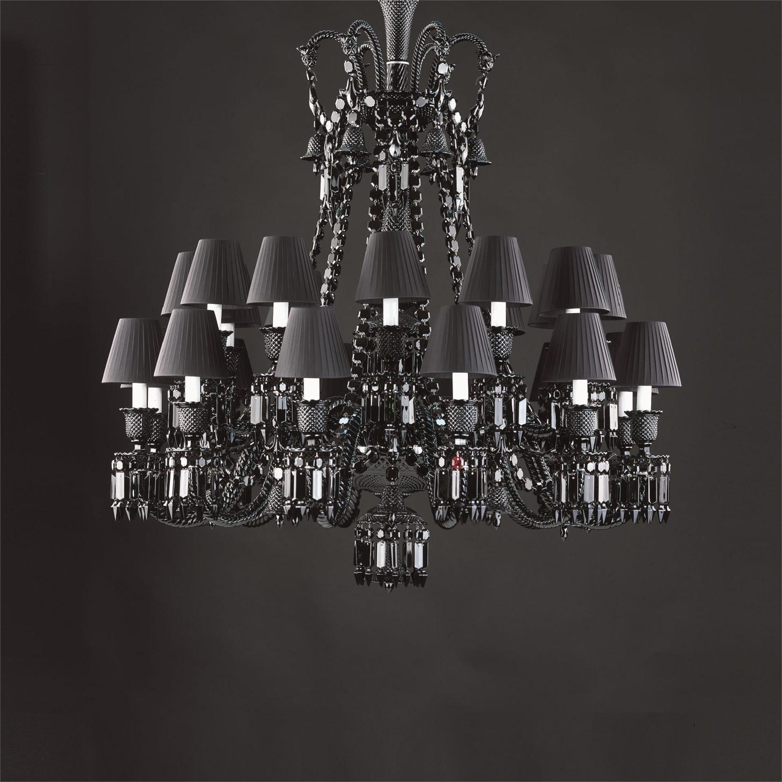 Baccarat zenith 24 arm black crystal chandelier baccarat crystal blog baccaratzenith24arm baccarat crystal black zenith 24 arm chandelier designed by philippe aloadofball Choice Image